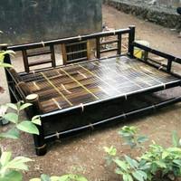 bale bambu hitam ukuran 100 x 200