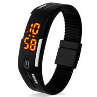 Jam Tangan Digital LED Wanita SKMEI 1099 Black Water Resistant 30M