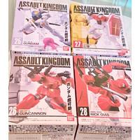 Assault Kingdom Gundam Rx-78, Rick Dias, GunCannon, GM SET Rare