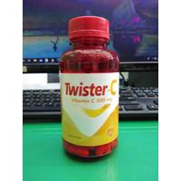 TWISTER C VITAMIN C 500 mg MEMELIHARA DAYA TAHAN TUBUH ISI 100 KAPSUL