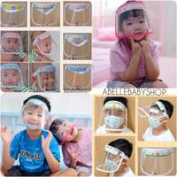 Face shield anak/bayi premium nyaman abellebabyshop