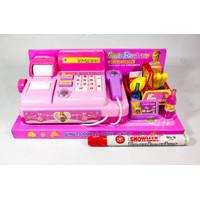 Mainan Cash Register Pink Mainan Anak Kasir-kasiran