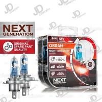 LAMPU MOBIL - H4 - OSRAM NBR - 55/60W - 12V - 150% BRIGHTER 20% WHITER