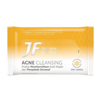 JF Acne Cleaning Wet Wipes 10's