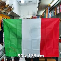 Bendera negara Italy ukuran 90x135 cm bahan veles