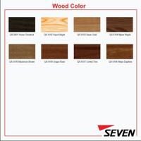 SEVEN ACP PVDF 4 mm Wood Alloy 1100 0,3 mm