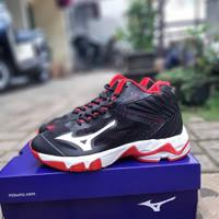 Sepatu Volly Mizuno WL Z5 Black Red