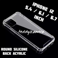 Case Anti Crack iPhone 12 Series Ready All Tipe Acyrlic High Quality - 5.4