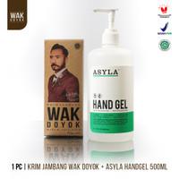 Paket Wak Doyok Cream 75ml + ASYLA Hand Gel 500ml
