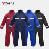 CAIYU - Jas Hujan Caiyu Original - Bahan Taslan Jaket Hujan Anti Bocor