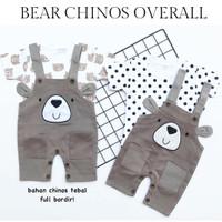 BEAR CHINOS overall anak cewe perlengkapan anak babeebabyshop