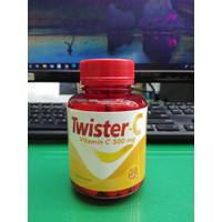 TWISTER C VITAMIN C 500 mg MEMELIHARA DAYA TAHAN TUBUH ISI 30 KAPSUL
