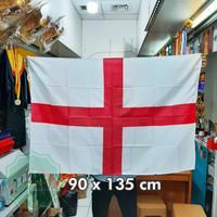Bendera Negera England ukuran 90x135cm bahan veles