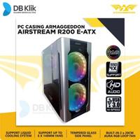 Casing Armaggeddon AirStream R200 EATX - Armagedon R200 ARGB E-ATX