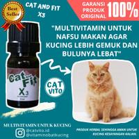 Vitamin Kucing CAT and FIT X3 Multivitamin Kucing Terbaik
