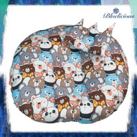 Baby Sofa Tempat Duduk Bayi Set Free Bantal + Tas Mika Panda
