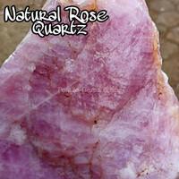 Batu Rose Quartz Bahan Batu Akik dan Hiasan Kiloan
