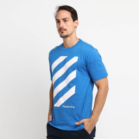 Papperdine Big Stripe Orient Graphic T-Shirt Kaos Pria