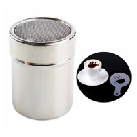 Peket Penabur Bubuk + Cetakan Busa Foam Kopi Latte Art