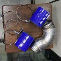 Aksesoris Variasi Pipa filter udara intake pipe Pajero Sport Dakar 09+