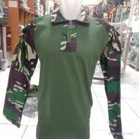 Kaos Tactical BDU Loreng Malvinas TNI AD lengan panjang Baju Tactical