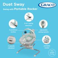 Graco Duet Sway Swing with Portable Rocker / Rocker Bayi Graco - lilo
