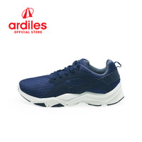 Ardiles Men Scleropta Sepatu Running - Navy