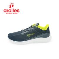 Ardiles Men Lacasate Sepatu Running - Hitam Citrun