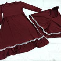 baju gamis anak 1 sampai 3 tahun gamis muslim anak