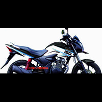 Cutting Sticker Stiker Lis Body Motor Honda Verza 150