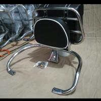 Back rack Vespa LX & S GTS plus sidebag vespa