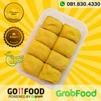Pancake durian non cream 8 Tanpa Krim Asli Medan Aroi
