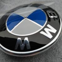 Emblem BMW Kap Mesin / Bagasi 82mm E30 E34 E36 E39 E46 Kualitas OEM