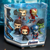 HOT TOYS HT COSBABY COSB787 THE AVENGERS SET VERSION