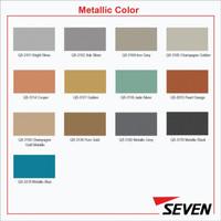 SEVEN ACP PVDF 4 mm Metallic Alloy 1100 0,3 mm