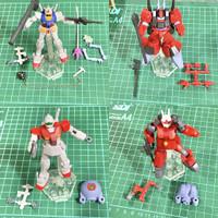 Assault Kingdom Gundam Rx-78, Rick Dias, GunCannon, GM SET Rare Bandai