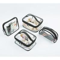 WRF46 Tas Pouch Kosmetik Clear Transparant PVC Waterproof Travel TKM