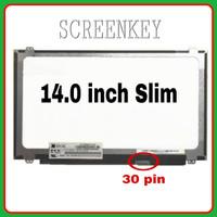 LCD LED Laptop Asus A456 A456U A456UF A456UR A456UQ 14.0 30 Pin
