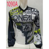 Baju JERSEY 1090A Kaos Balap Sepeda Motor Trail Downhill Trek Bike MTB