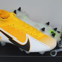 Sepatu Bola Nike Mercurial Superfly VI Elite Anti Clog Laser Orange