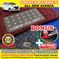 Karpet Mobil Mie Bihun ALL NEW AVANZA Non Bagasi - Bahan 1 Warna