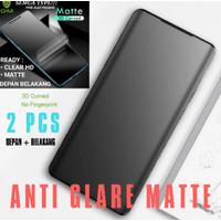 anti gores samsung s8 plus hydrogel matte anti glare premium