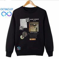 OCTACLEF Jaket Sweater Crewneck Music Band Nirvana 31 Unisex