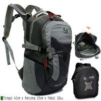 tas ransel gear bag free rain cover tas punggung pria wanita