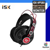Headphones ISK HP580 / HP 580 / HP-580 Headphone Studio Monitoring