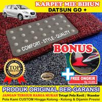 Karpet Mobil Mie Bihun DATSUN GO Non Bagasi - Bahan 1 Warna