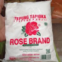 tepung tapioka rosebrand tepung kanji 500g