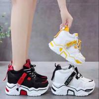 sepatu sneaker wanita keren kekinian kets putih varian murah ready