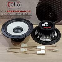Speaker Midbass Cello TG17 pnp- Soket Honda/Toyota
