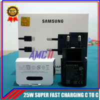 Charger Samsung Galaxy M51 ORIGINAL 100% Super Fast Charging USB C 25W
